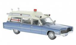 Neo Models Cadillac S&S High Top Ambulance 1966 (49545)