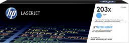 HP 203X oryginalny wkład z błękitnym tonerem LaserJet o dużej pojemności (CF541X)