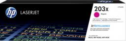 HP 203X oryginalny wkład LaserJet z purpurowym tonerem o dużej pojemności (CF543X)