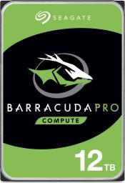 """Dysk Seagate Barracuda Pro 12 TB 3.5"""" SATA III (ST12000DM0007)"""