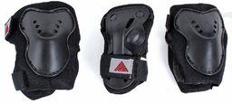 K2 Zestaw ochraniaczy dziecięcych SK8 Hero Pro Pad Set K2 czarno-czerwony r. XS
