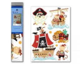 Sticker BOO Dekoracja ścienna Piraci (RDA 3315)