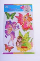 Sticker BOO Dekoracja ścienna Wróżki (POA 1000)