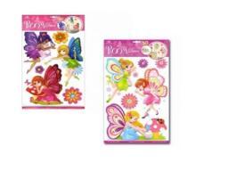 Sticker BOO Dekoracja ścienna Serca 3D (RCA 050)