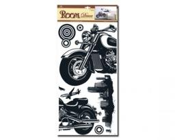 Sticker BOO Dekoracja ścienna motor (RDA 8834)
