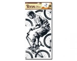 Sticker BOO Dekoracja ścienna Rower (RDA 8841)