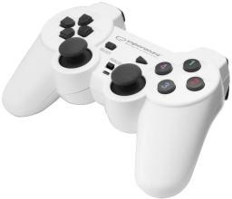 Gamepad Esperanza EGG102W WARRIOR biały