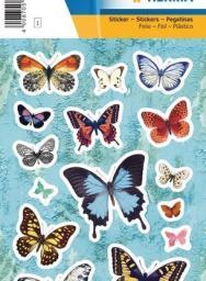 Herma Naklejki na motyle, folia - 15400