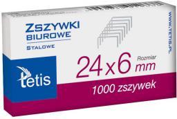 Tetis Zszywki 24/6 (GZ101-A)