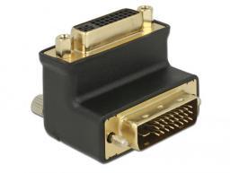 Adapter AV Delock kątowy  DVI(24+1) -> DVI(24+5)  (65866)