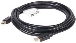 Kabel Club 3D DisplayPort Mini - DisplayPort Mini, 2, Czarny (CAC-2161)