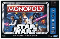 Hasbro Gra Monopoly Star Wars wersja PL (C1990)