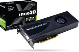 Karta graficzna Inno3D GeForce GTX 1070 Ti Jet-Fan 8GB GDDR5 256 bit DVI-D, HDMI, 3xDP, BOX (N107T-1DDN-P5DN)