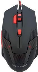 Mysz LC-Power Black/Red m713B (LC-M713B)