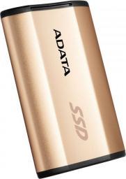 Dysk zewnętrzny ADATA SE730H 512 GB Złoty (ASE730H-512GU31-CGD)
