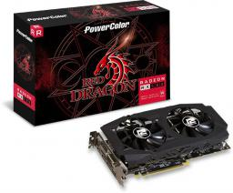Karta graficzna Power Color Radeon RX 580 Red Dragon V2 8GB GDDR5 (AXRX580 8GBD5-3DHDV2/OC)
