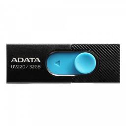 Pendrive ADATA UV220 32GB Czarno/niebieski (AUV220-32G-RBKBL)