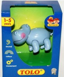 Dumel Zabawki dla niemowląt Hipopotam (86583)
