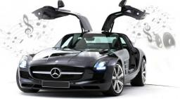 Dumel Mercedes Benz SLS AMG Bluetooth 1:16 (86074)