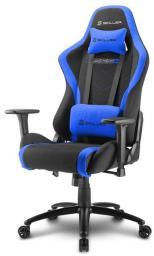 Fotel Sharkoon SKILER SGS2 czarno-niebieski - materiałowy