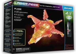 Laser Pegs Klocki 4 w 1 Plane