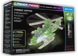 Laser Pegs Klocki 4 w 1 Combat Copter