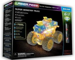 Laser Pegs Klocki 6 w 1 Super Monster Truck