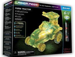 Laser Pegs Klocki 6 w 1 Farm Tractor