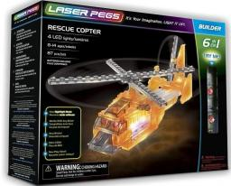 Laser Pegs Klocki 6 w 1 Rescue Copter