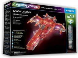 Laser Pegs Klocki 12 w 1 Space Cruiser