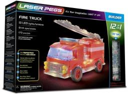 Laser Pegs Klocki 12 w 1 Fire Truck