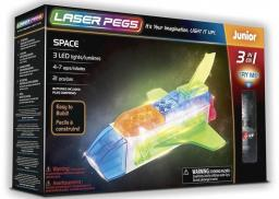 Laser Pegs Klocki 3 w 1 Space