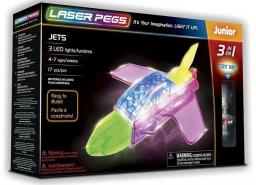 Laser Pegs Klocki 3 w 1 Jets
