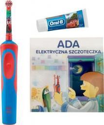 Oral-B Szczoteczka elektryczna Kids Cars + Pasta + Książeczka
