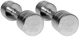 TKO Hantel Chromowany Beauty Bells 5 kg srebrny (K815BBN-5)