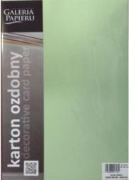 Argo Karton ozdobny 20 arkuszy, 220g, zielony  (203613)