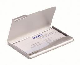 Durable Wizytownik srebrny metalowy  (241523)