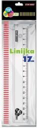 TOP-2000 LINIJKA PRZEZROCZYSTA 17CM (400073345)