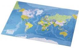 Esselte Podkład  Mapa świata  400 x 530mm (32184)