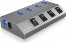 HUB USB RaidSonic IB-HUB1405