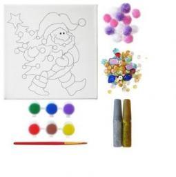 Incood Zestaw do malowania - Mikołaj