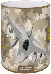 Starpak Metalowy pojemnik na przybory Military