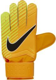 Nike Rękawice Bramkarskie GK Match Pomarańczowe r. 7 (GS0344-845)