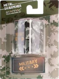 Starpak Temperówka metalowa trójkątna Military