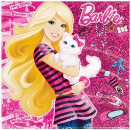 Starpak Podobrazie 25x25cm Barbie