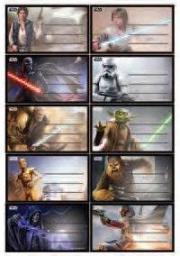 Verte Naklejki szkolne Star Wars