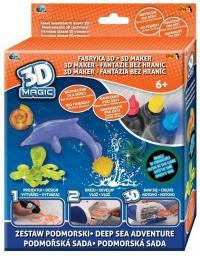 Epee 3D Magic - Fabryka 3D - Mega zestaw tematyczny, 2 rodzaje  (GXP-601251)