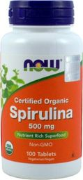 NOW Foods NOW Foods Spirulina 100 tabl. - NOW/115