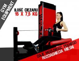 KELTON Mięśnie pleców, wyciąg poziomy PMS10 GYM EQUIPMENT