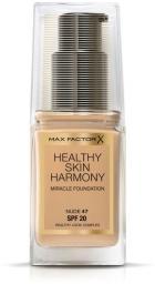 MAX FACTOR Healthy Skin Harmony Miracle Foundation SPF20 podkład do twarzy 47 Nude 30ml